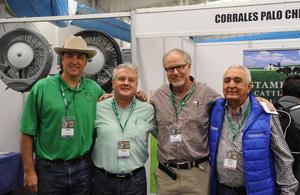David Stamey, Enrique Menéndez, Rubén Díaz Flores y Ramon Ávila