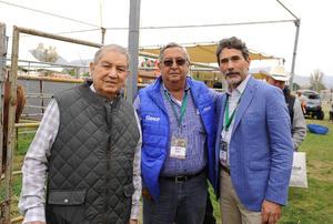 José Armando García Triana, Mario Valdés Berlanga y Francisco José García Treviño