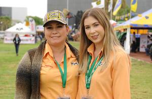 Lorena Arreola y Brenda Martínez