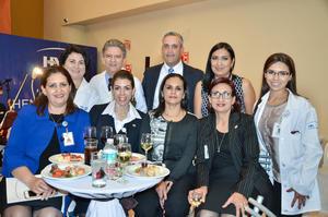 19032017 Ana Luisa, David, José Luis, Liliana, Mitzy, Mirna, Aurora, Isabel y Haifa.