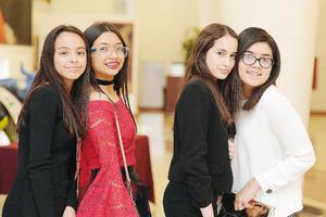 20032017 Andrea, Patricia, Natalia e Isabela.
