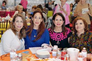 20032017 Josefina, Alicia, Caro y Yola.