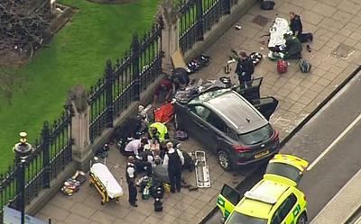 Esta mañana se presentó, lo que se calificó como un ataque terrorista en Londres en dos actos casi simultaneos ocurridos en el Parlamento y en el Puente de Westminister