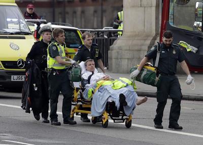 Los heridos fueron atendidos por elementos de emergencias.