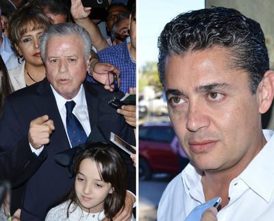 Se registran Miguel Mery del PRI y Jorge Zermeño del PAN como candidatos por la alcaldía de Torreón.