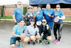 25032017 CORREDORES.  Sandy, Jessy, Fernando, Lety, Abby, Luis, Horacio y Ramón.
