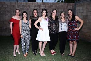 25032017 FIESTA DE DESPEDIDA.  María Julia con Blanca, Alejandra, Ana, Sara, Mariana y Ariadne.