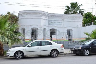 El Torreón de este edificio no se percibe a simple vista, pues se colocó cemento.