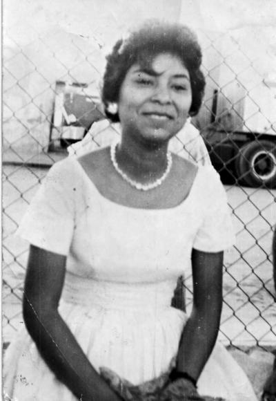 26032017 Ernestina Muñiz en 1965.