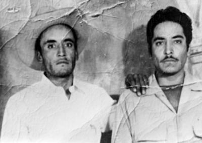 26032017 Rafael y Juan Castillo Puga en la década de los 50, originarios de La Concha, Durango.