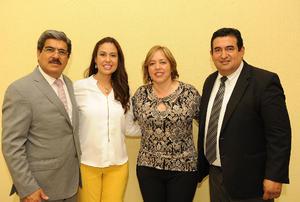 26032017 Raúl Martinez, director de UTT, Lorena Medina, cordinadora de UAC, Martha Argüelles, directora de UANE, y Miguel Gutiérrez.