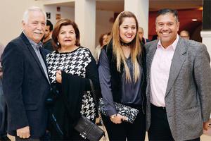 26032017 CONCIERTO DE LA CAMERATA.  Héctor, Carmen, Laura y Fernando.