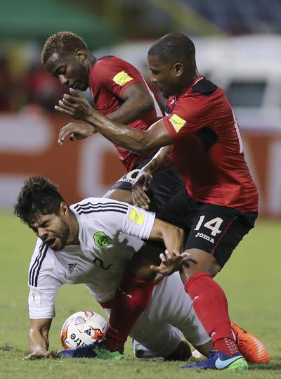 Néstor Araujo fue nuevamente titular y tuvo un buen partido ante los trinitarios.
