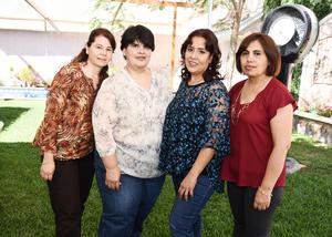 31032017 Elena, Marcela, Gloria y Rosy.