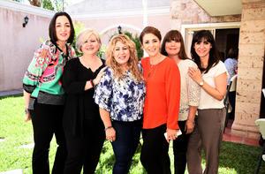 31032017 Luz Adriana, Ana Carmen, Liz, Lolita, Claudia y Alejandra.