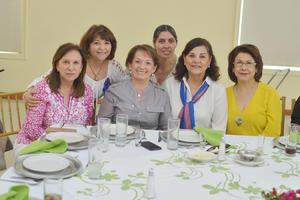 31032017 Paty, Martita, Pilar, Lety, Rosy y Lety.