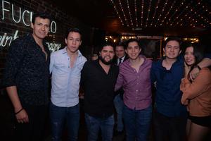Sebastián, Ricardo, Ricardo, Erick, Luis y Mariana