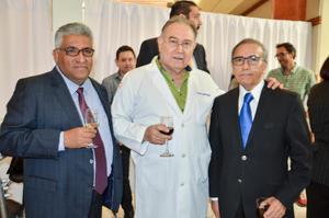 Andrés Ramírez, Ismael Treviño y Manuel Olhagaray