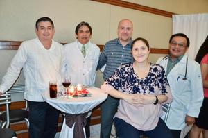 Jacobo Quiroz, José Alberto Tavares, Eleazar Muruato, Linda Gutiérrez y Francisco Gallegos