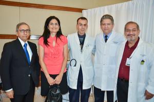 Manuel Olhagaray, María Elena Murguía, Erick Flores, David Garza y Rafael Hernández