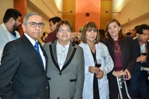 Manuel Olhagaray, Mayela Ramos, María Luisa de la Rosa y Elisa Cobos
