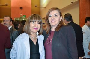 María Luisa de la Rosa y Elisa Cobos