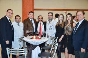 Sinhué Pasos, Carlos Morales, Carlos Martínez, César Alejandro del Bosque, Raúl Domínguez, Natalia Ramos, Laura Castillo y José Monroy