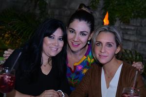 Marcela, Yadira y Liz