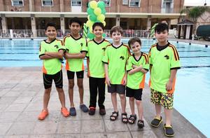 Emilio, Sergio, Saulo, Marco, Alex y Ricardo