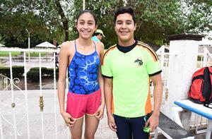 Marlene y Javier