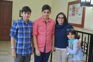 01042017 Pablo, Sergio, Lucía y Jimena.