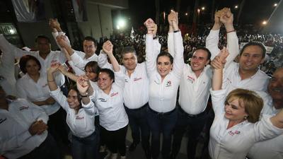 En los primeros minutos del 2 de abril, Miguel Riquelme arrancó su campaña.