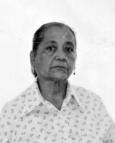 02042017 María de la Luz Castillo Puga en los años 50.