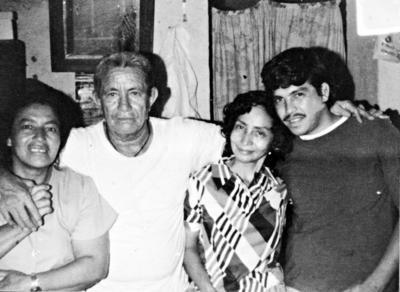 02042017 Esther, Juan, Herlinda y Carlos, en 1970.