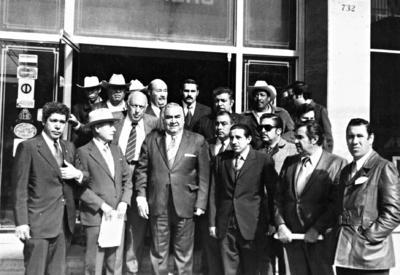 02042017 Prof. Óscar Torres, Prof. Sánchez Rodríguez, Lic. González Carielo, Lic. Perales, Sr. Enrique González, Lic. Jesús Reyes, Lic. Benavides, Sr. Juan Abusaid y Lic. Víctor González.