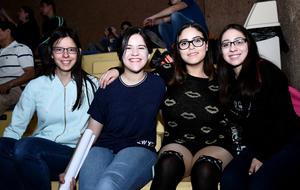 02042017 Natalia, Claudia, Andrea y Aranza.