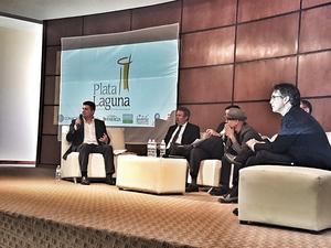 03042017 Eduardo Gajón, Eugenio Treviño, Ricardo Domingo, Daniel Espinosa y Rafael Rebollar.