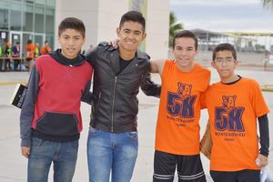 03042017 AMIGOS.  Jorge, Toño, Ricardo y Fernando.