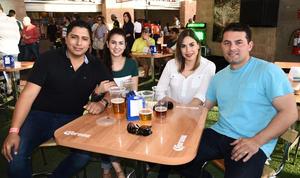 02042017 Ayl Rodríguez, Rosa Anaya, Karen Molina y Víctor Maltos.