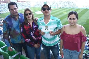 02042017 Víctor Lira, Francisco Lira, Rocío Lira y Denisse Lira.