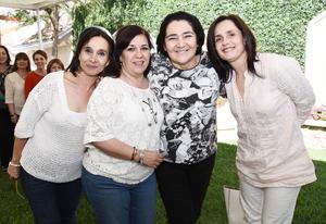 03042017 REENCUENTRO.  Lupe, Adriana, Tamara y Rosa Martha.