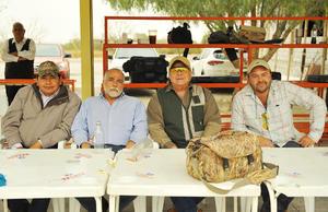 02042017 SERIAL DE TIRO.  Gonzalo, Luis, Gerardo y Sergio.