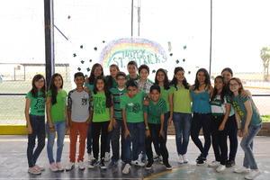 02042017 DíA DE SAN PATRICIO.  Alumnos del Colegio San Roberto.