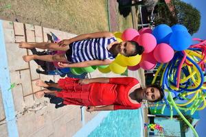 03042017 Alumnas de la clase de natación.
