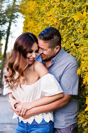 02042017 Gabriela Quntero y Edgar Morales se casarán en mayo próximo. - Erick Sotomayor Fotografía