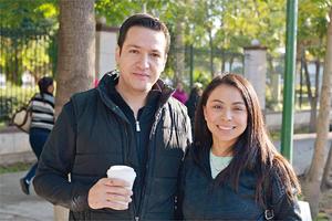 03042017 EN PAREJA.  Mauricio y Lucero.