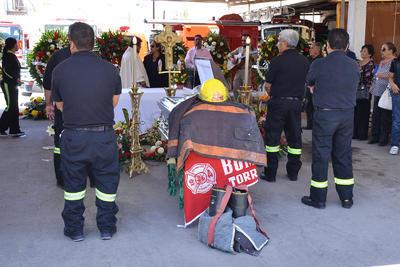 La ceremonia se realizó en la Estación Colón, ahí tomaron la palabra compañeros de Gustavo, familiares y el comandante Salvador Zamora.