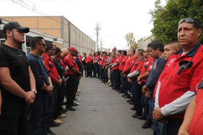 """De acuerdo con Morán Delgado habrá un Reglamento de las Funciones Específicas de los bomberos para que """"actividades extra ya no estén al arbitrio de nadie en ninguna administración""""."""