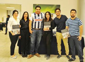 06042017 FERIA DEL LIBRO ITESM.  Idoia, Aelyn, Carlos, Fernanda, Eduardo y Andrés.