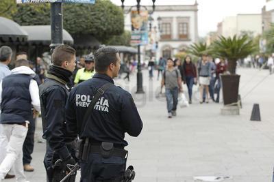 Refuerzan seguridad en la capital de Durango.